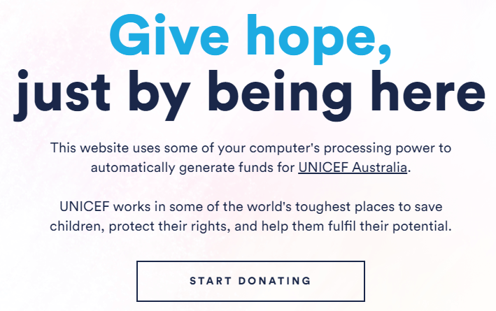 The Hope Page